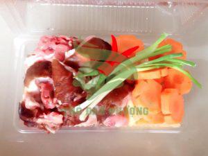thịt thỏ nướng